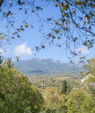 gurzuf crimea travel mountain