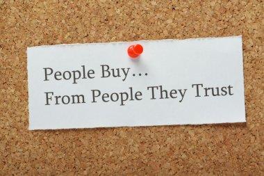 Customer Trust Concept