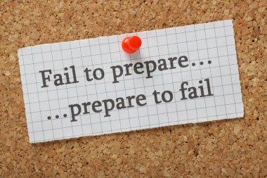 Failure versus Success Concept