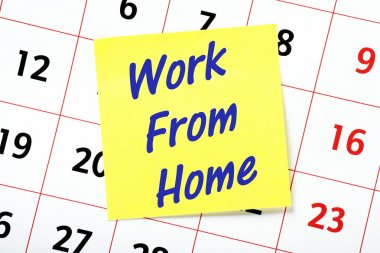 Work From Home Reminder