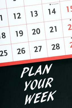 Plan Your Week Calendar