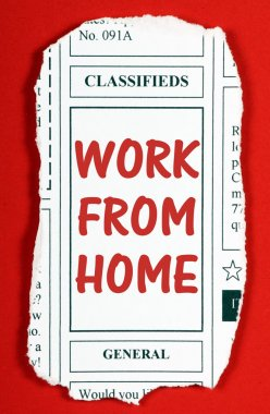 Work From Home Advertisement