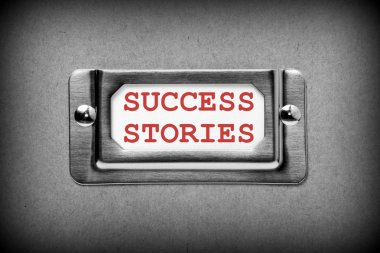Success Stories Drawer Label