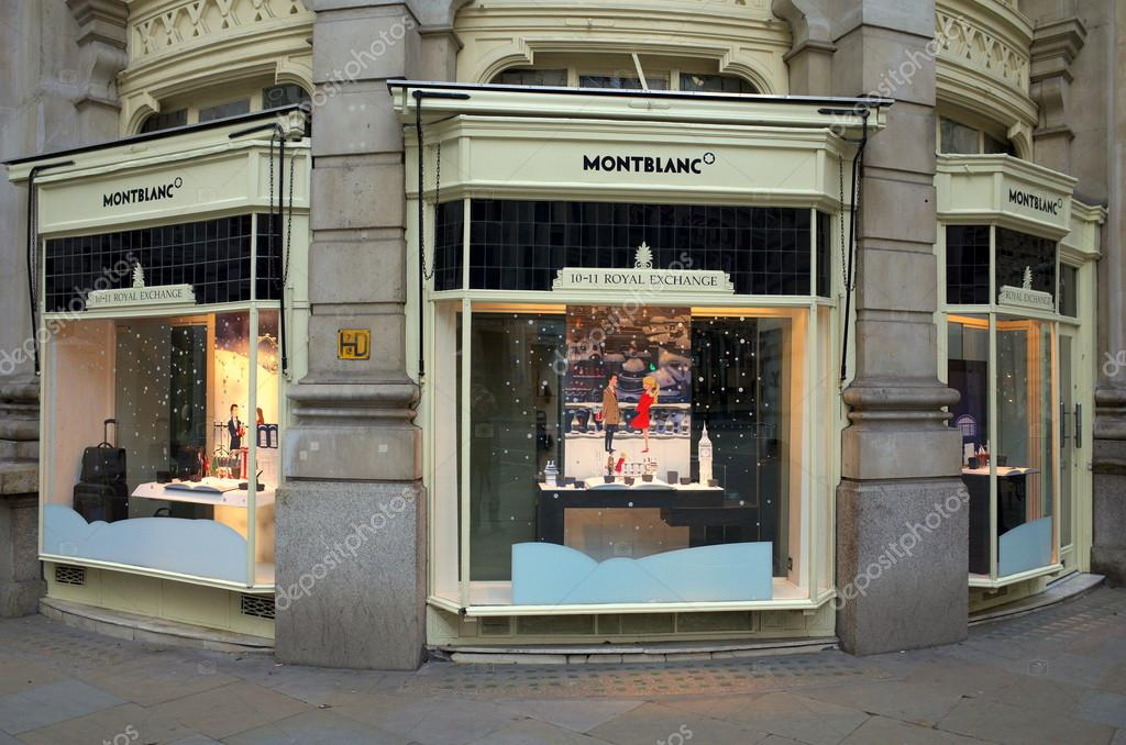 Montblanc Store - London – Stock Editorial Photo © thinglass