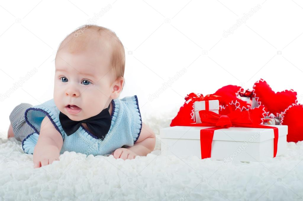 74b9d2c6604f Little beautiful boy in bow tie — Stock Photo © Loya-ya  62458017