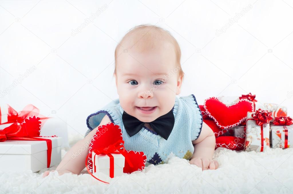 ab152abf9e73 Little beautiful boy in bow tie — Stock Photo © Loya-ya  62458029