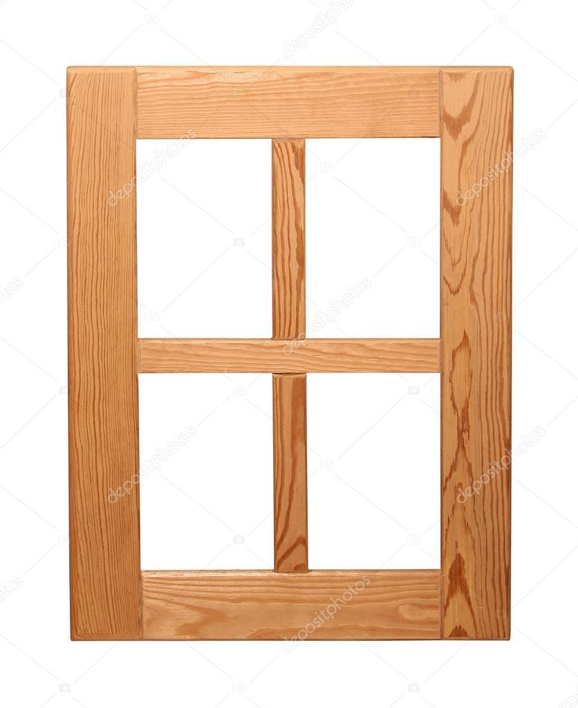 marco de ventana de madera — Fotos de Stock © ttatty #60454005