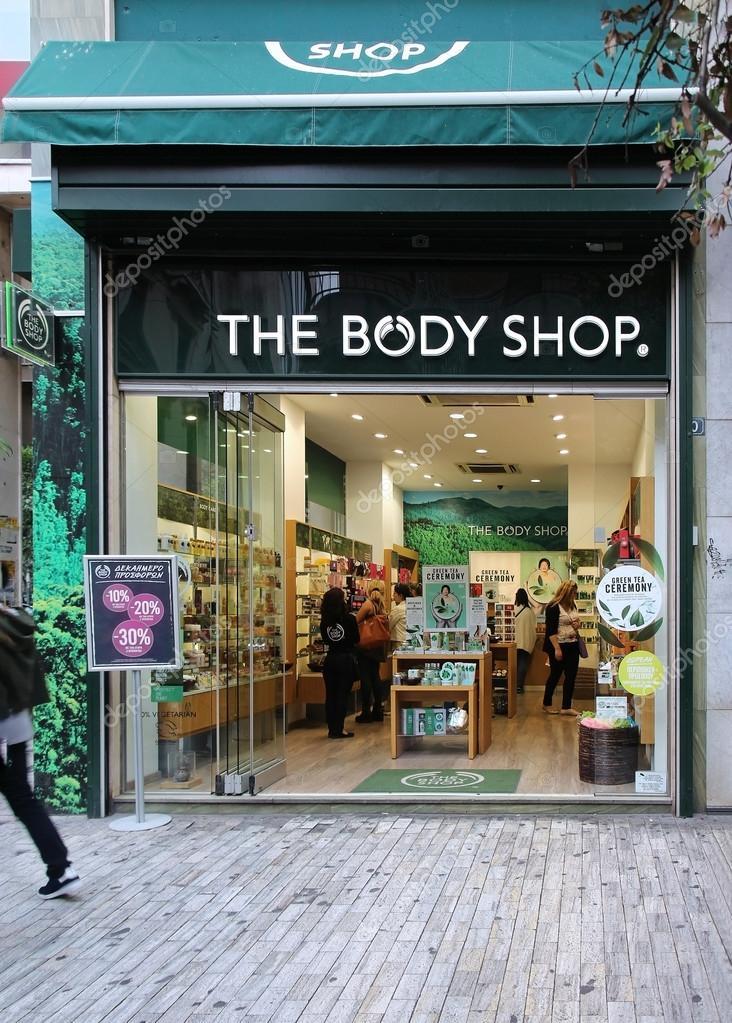 ede3e43dc a loja de corpo — Fotografia de Stock Editorial © ttatty  86987532