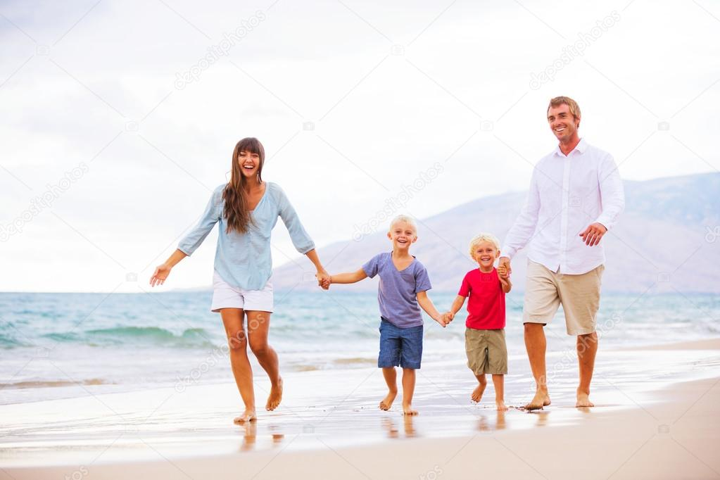 Family with Two Young Kids