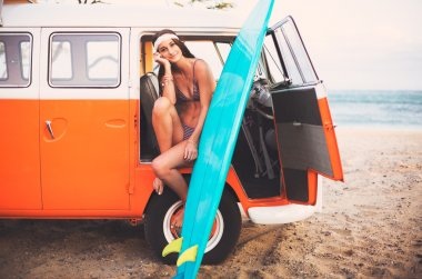 Surfer Girl Beach Lifestyle