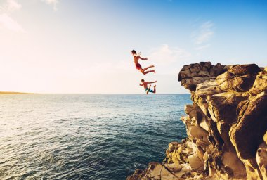 Summer Fun, Cliff Jumping