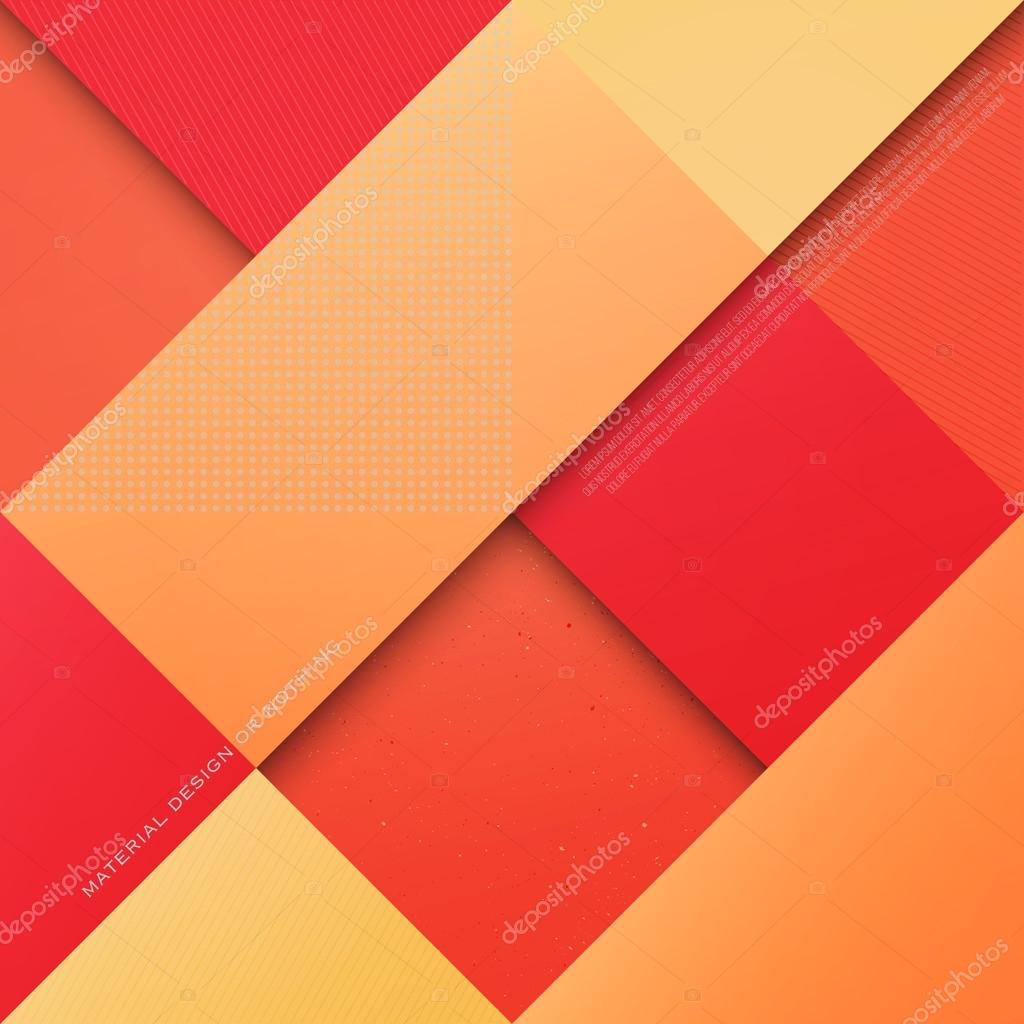 abstract orange red and yellow background with rhombus