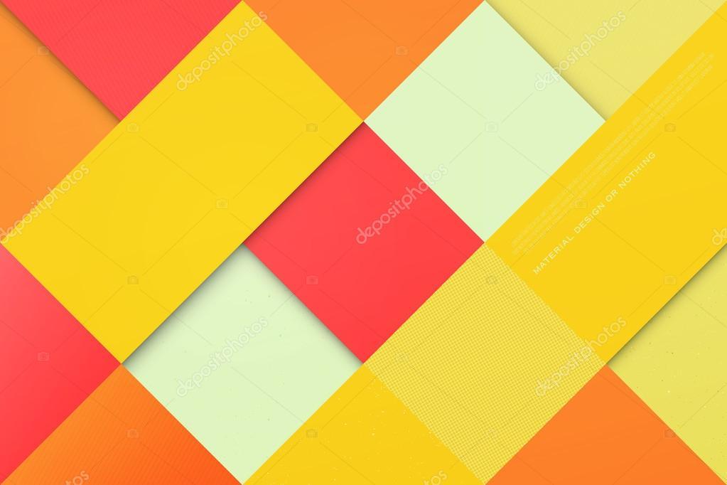 Fondo Geométrico: Fondo Abstracto Y Colorido Con Los Marcos De La Plaza Y