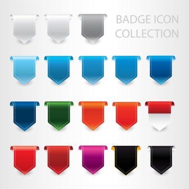 modern labels and badges vector set