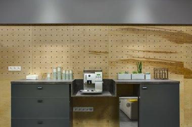 Break area in coworking