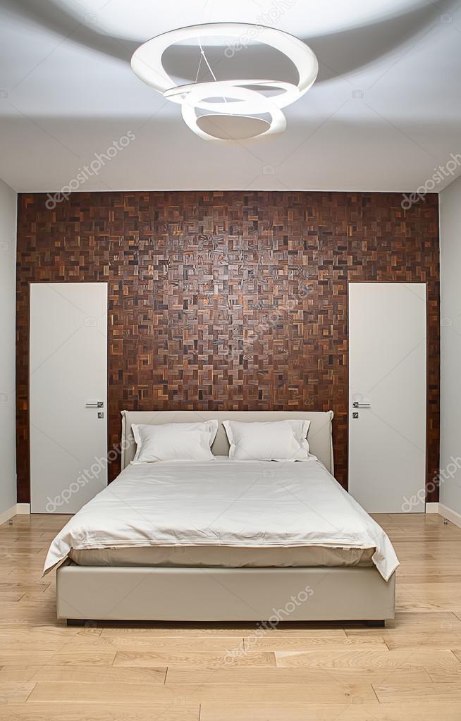 Sypialnia W Stylu Nowoczesnym Zdjęcie Stockowe Bezikus