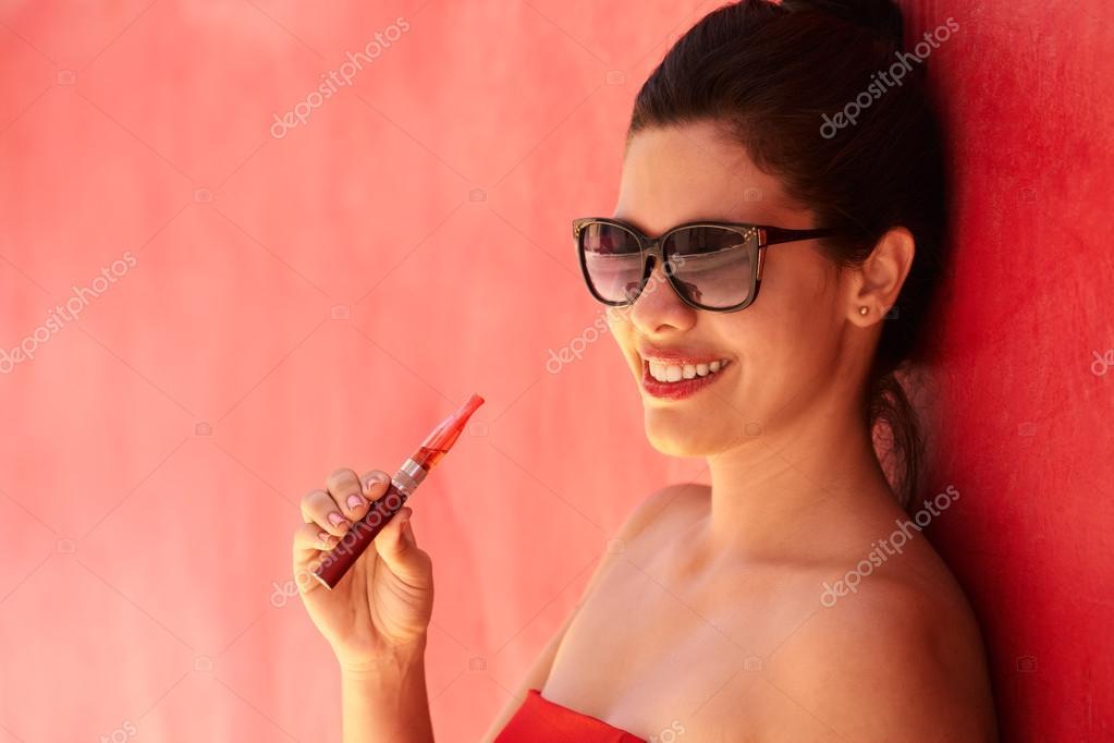 Dívky kouří