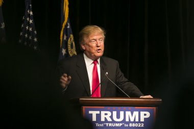 Republican Presidential Candidate Donald J Trump