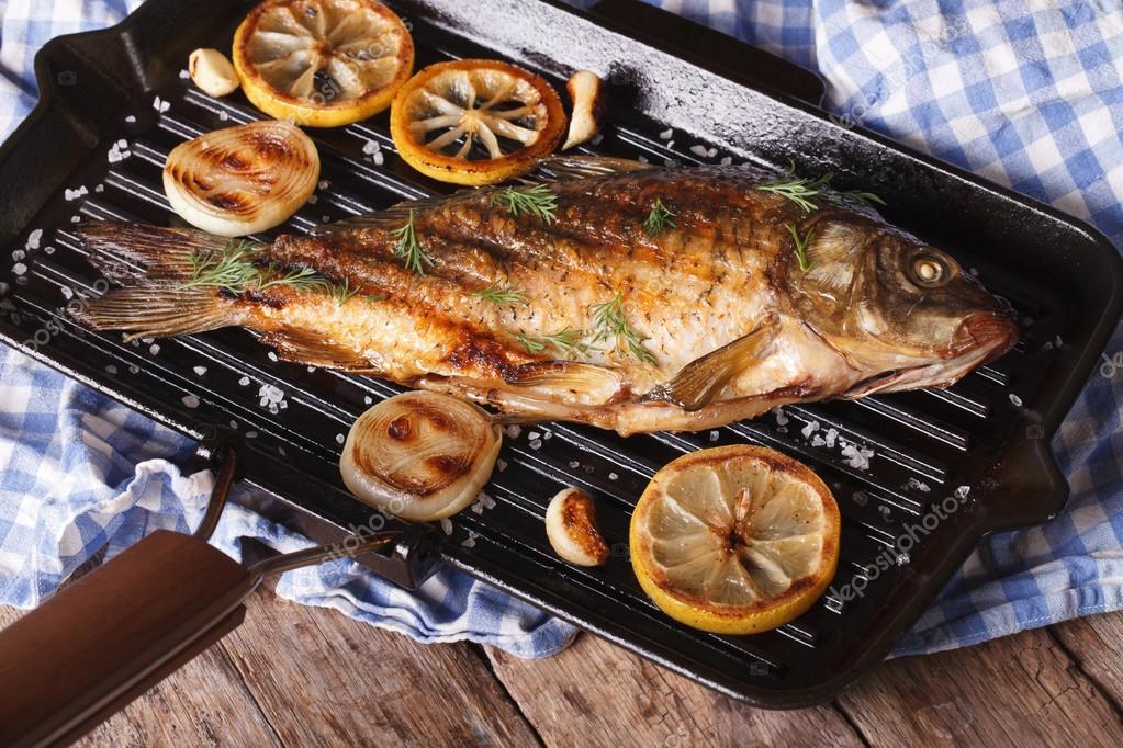 рыба на сковороде гриль рецепты с фото руки