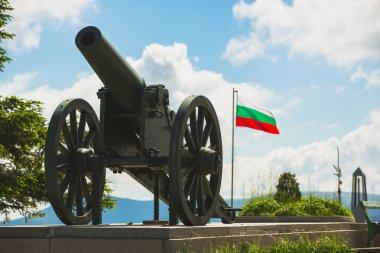 Shipka Pass Freedom Monument cannon