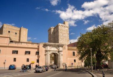 Cagliari, Porta Cristina, Sardinia