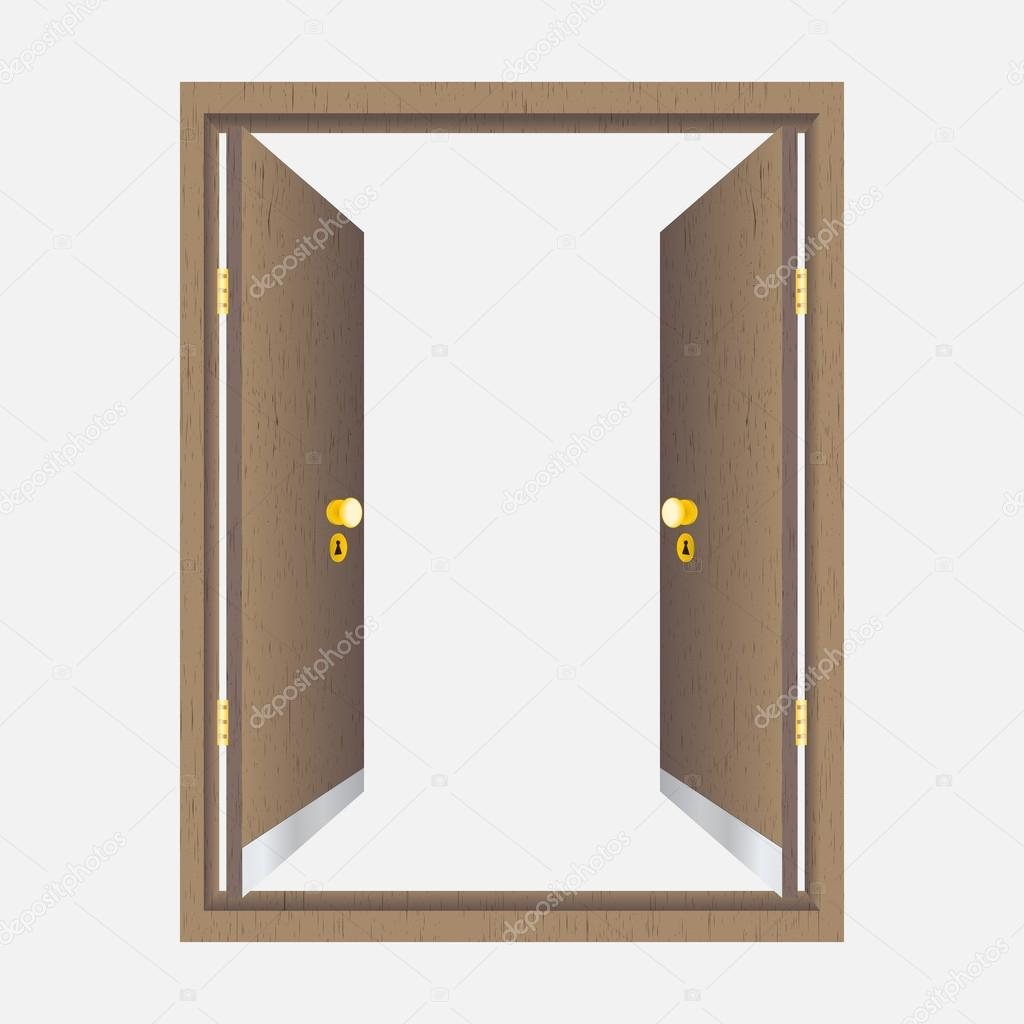 Tür Mit Rahmen
