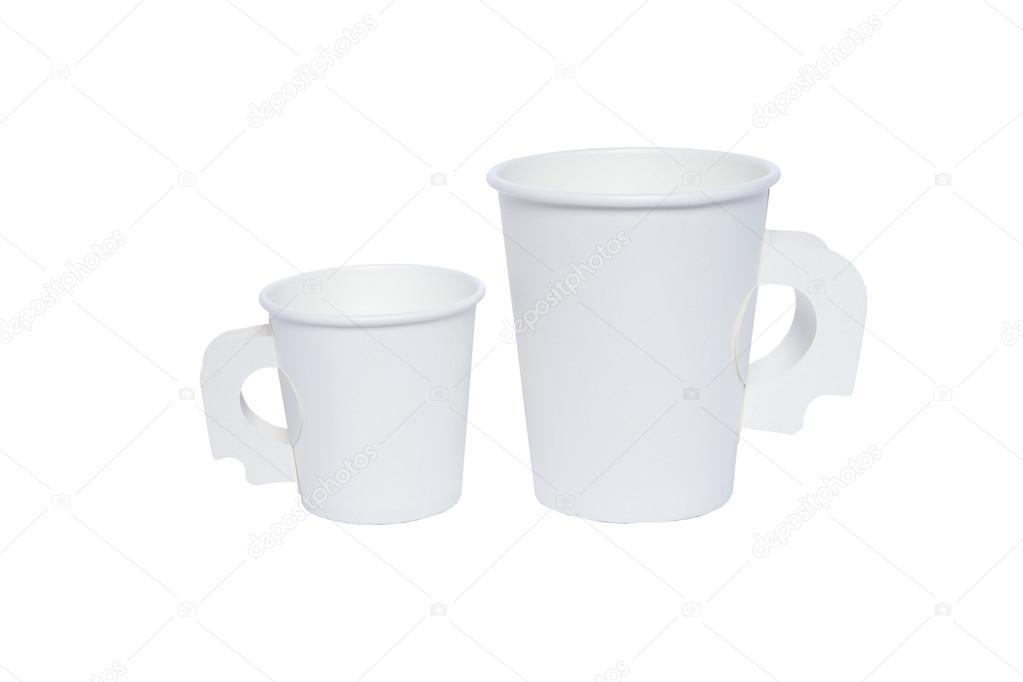vasos cartón para bebidas calientes y frías — Fotos de Stock ...