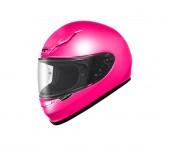 Originální motocyklové helmě izolované na bílém