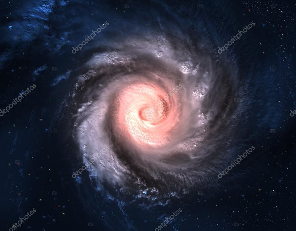Incredibly beautiful spiral galaxy