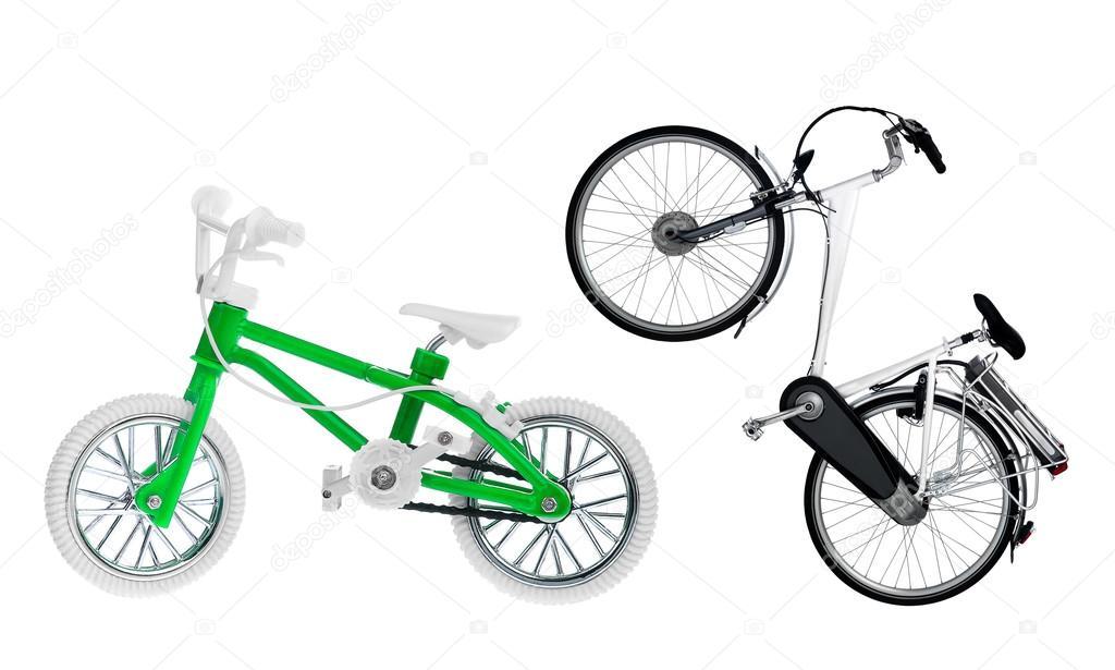 Маленькие велосипедики