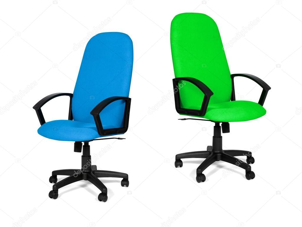 Sedie da ufficio blu e verde u2014 foto stock © ozaiachinn #81864798