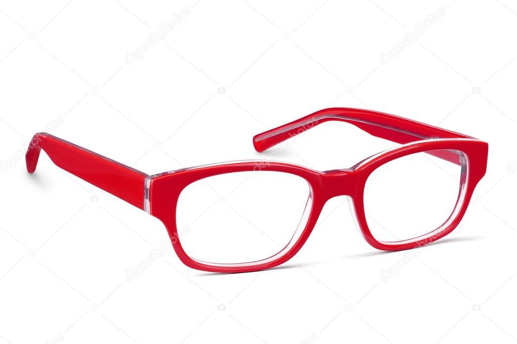 marco de las lentes rojos — Foto de stock © ozaiachinn #81869792