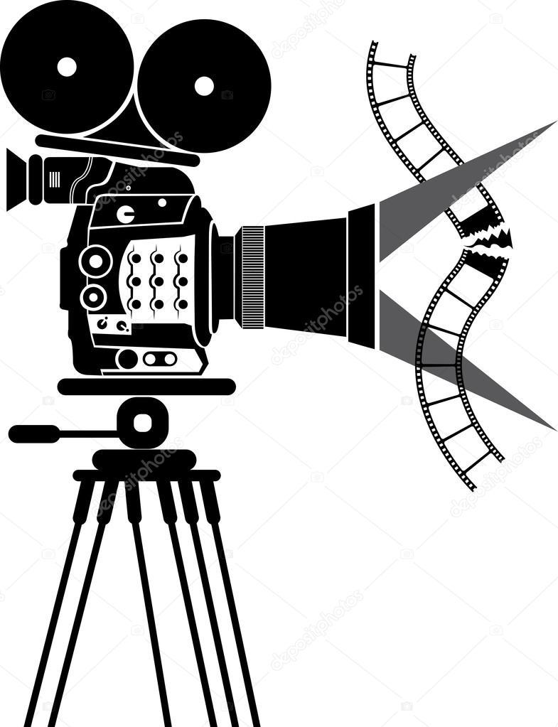 Film camera logo stock vector magagraphics 109945020 for Camera film logo