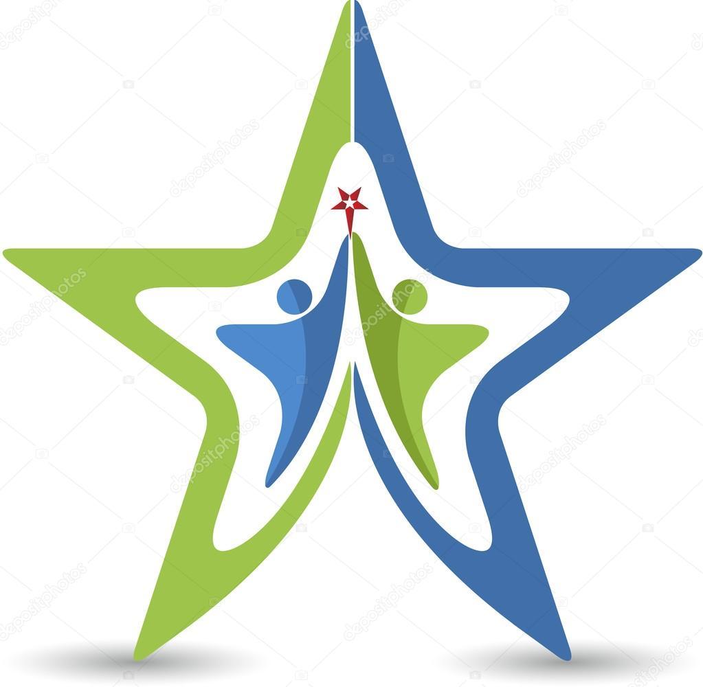 Couple star logo