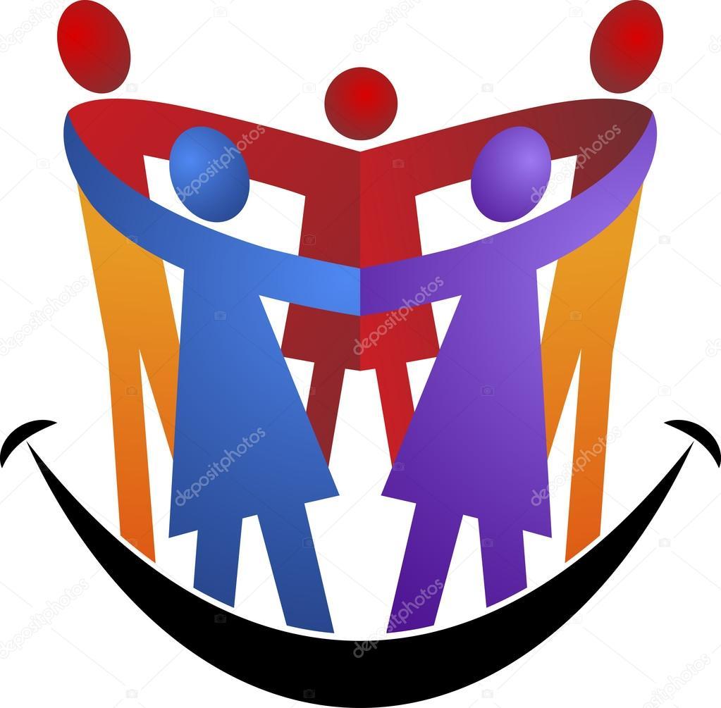 happy family logo stock vector magagraphics 76957365