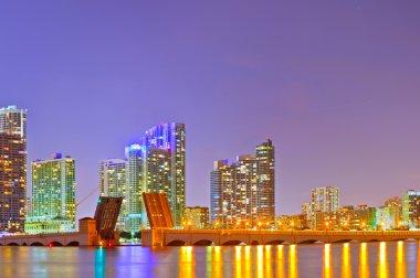 Panorama of Miami Florida