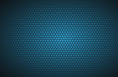 Geometric polygons background, abstract blue metallic wallpaper, vector illustration