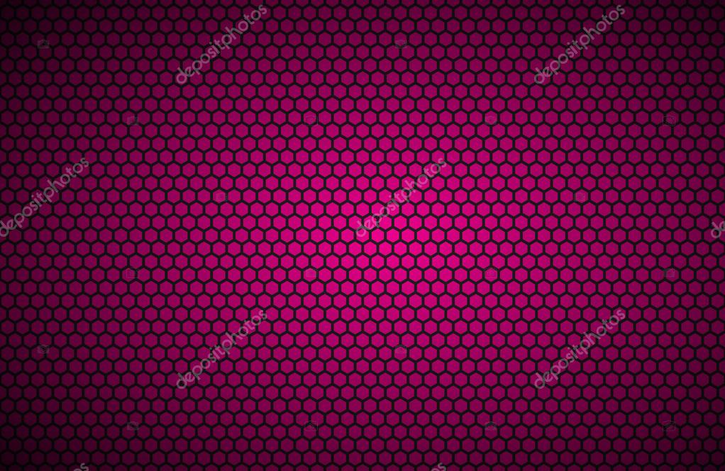 Geometric Polygons Background Abstract Pink Metallic Wallpaper Vector Illustration Stock