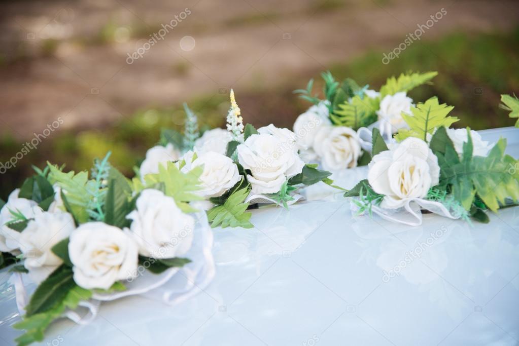 Auto Dekor Blumen Hochzeitsstrauss Stockfoto C Mupy 102578838