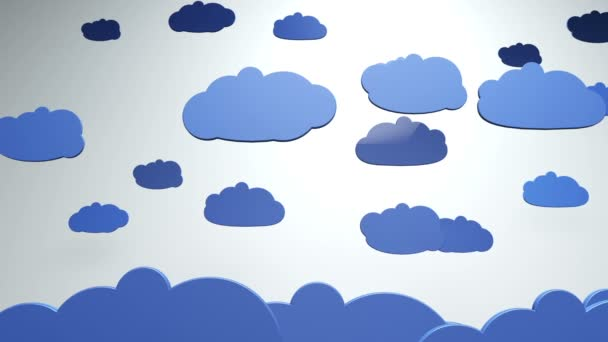 Cartoon Clouds animation