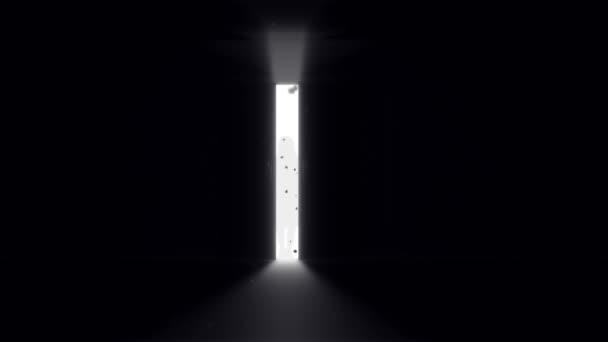 Mysterious Door background \u2014 Stock Video & Mysterious Door background \u2014 Stock Video © boscorelli #70919225