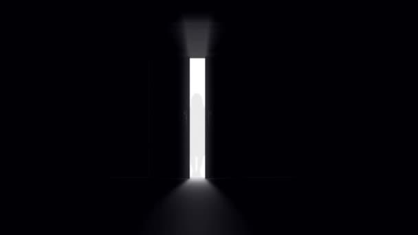 Mysterious Door background