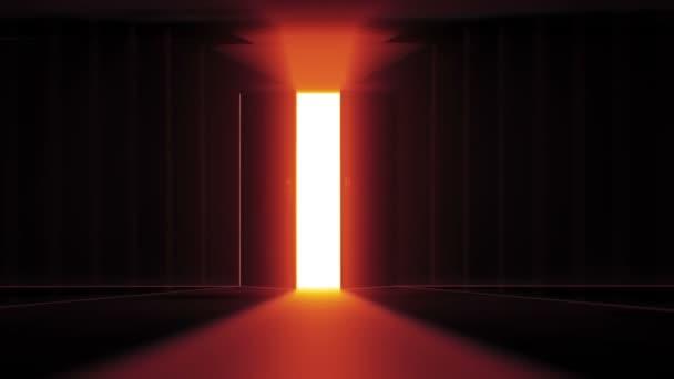 Tajemné dveře pozadí