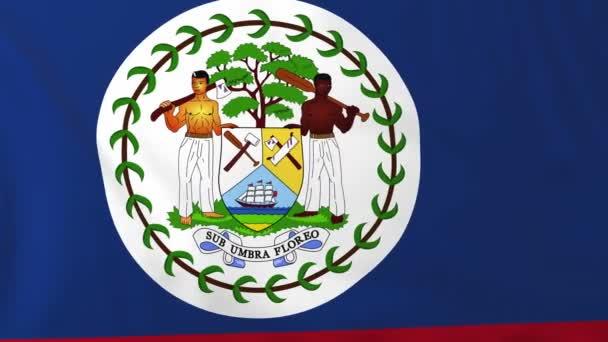 belize zászlaja