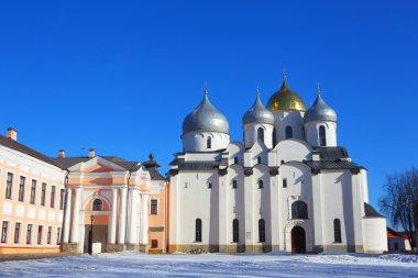 The Saint Sophia Cathedral. Great Novgorod.Russia