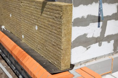 Wall of Bricks and Insulation