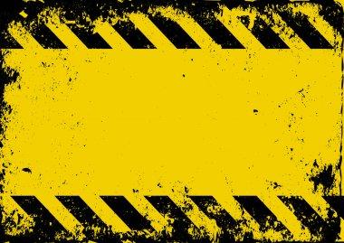 hazard background - vector illustration