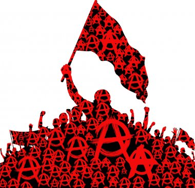 anarchy symbol and