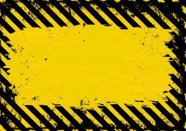 Danger Background - vector illustration