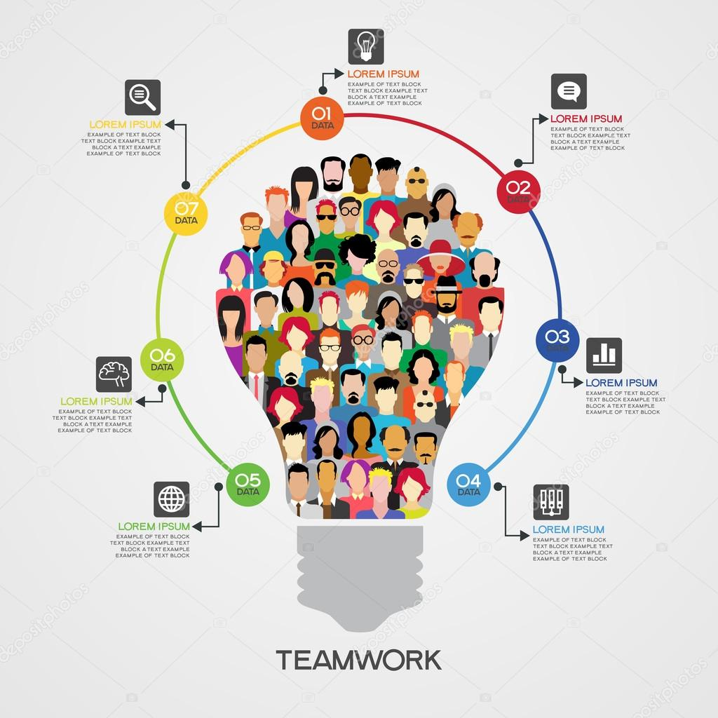 example of team work